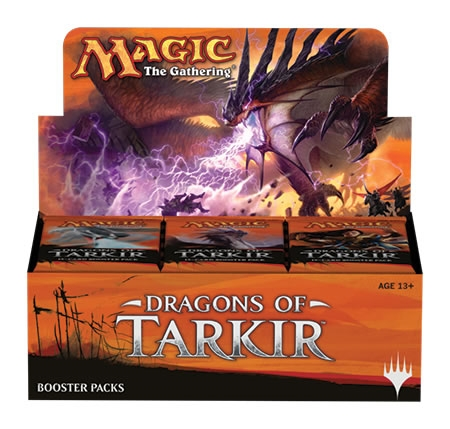 Vandaag en Morgen, Dragons of Tarkir Boosterbox 75,00 EUR