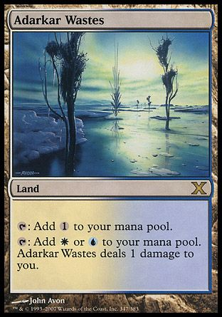 Adarkar Wastes, 10th Edition