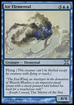 Air Elemental, 10th Edition