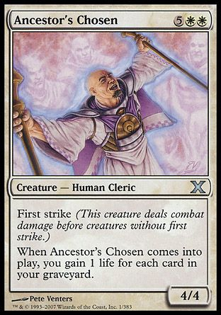 Ancestor's Chosen, 10th Edition