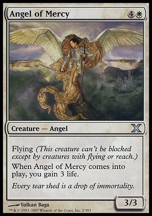 Angel of Mercy, 10th Edition