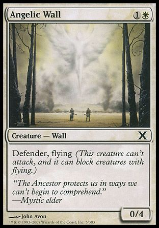 Angelic Wall, 10th Edition