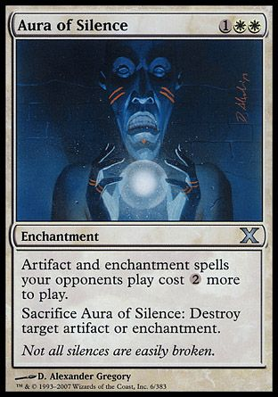 Aura of Silence, 10th Edition