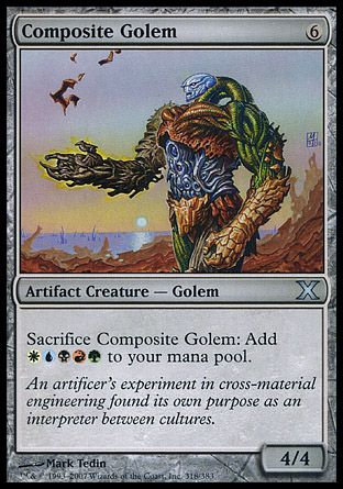 Composite Golem, 10th Edition