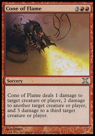 Cone of Flame, 10th Edition