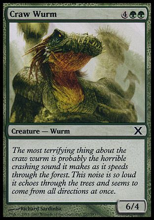 Craw Wurm, 10th Edition