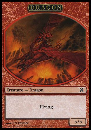 Dragon token, 10th Edition