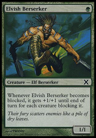 Elvish Berserker, 10th Edition