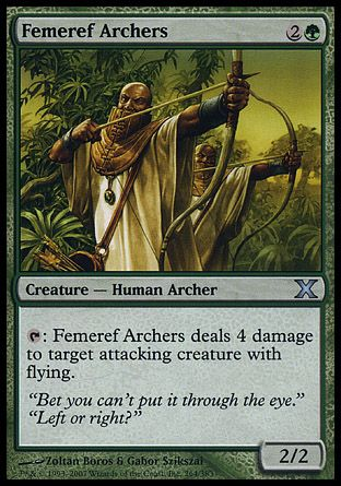 Femeref Archers, 10th Edition