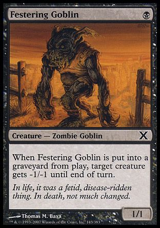 Festering Goblin, 10th Edition