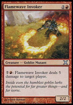 Flamewave Invoker, 10th Edition