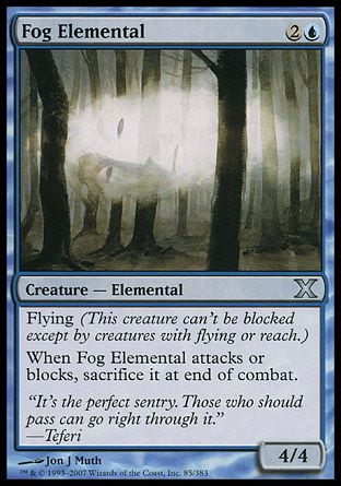 Fog Elemental, 10th Edition