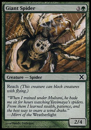 Giant Spider, 10th Edition