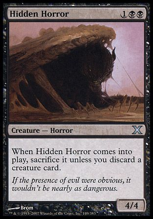Hidden Horror, 10th Edition