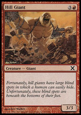 Hill Giant, 10th Edition