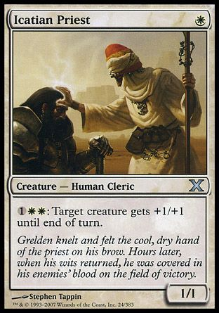 Icatian Priest, 10th Edition
