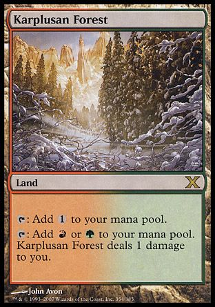 Karplusan Forest, 10th Edition