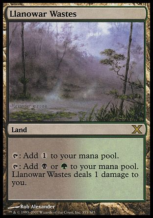 Llanowar Wastes, 10th Edition