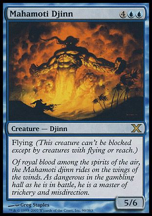 Mahamoti Djinn, 10th Edition