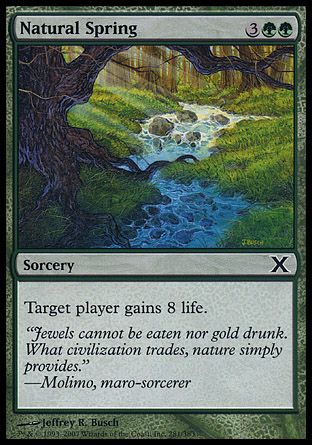 Natural Spring, 10th Edition