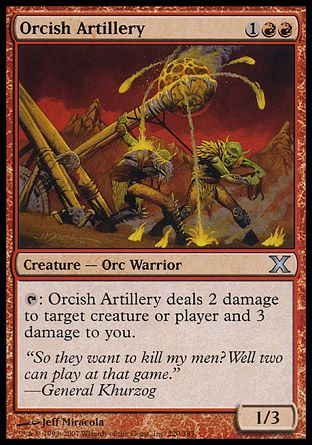 Orcish Artillery, 10th Edition