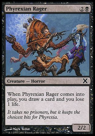 Phyrexian Rager, 10th Edition