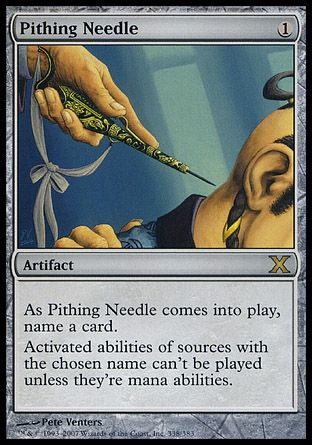 Pithing Needle, 10th Edition