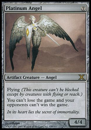 Platinum Angel, 10th Edition