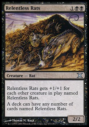 Relentless Rats, 10th Edition