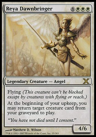 Reya Dawnbringer, 10th Edition