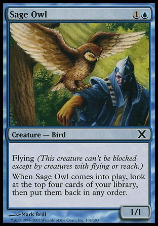 Sage Owl, 10th Edition