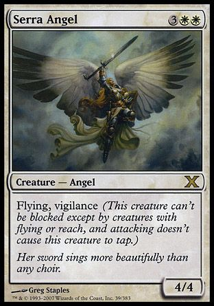Serra Angel, 10th Edition