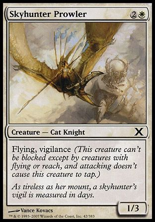Skyhunter Prowler, 10th Edition