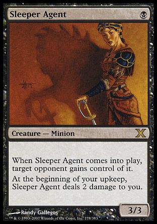 Sleeper Agent, 10th Edition