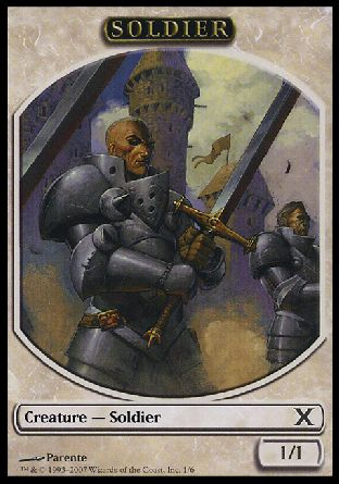Soldier token, 10th Edition