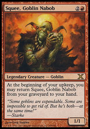 Squee, Goblin Nabob, 10th Edition