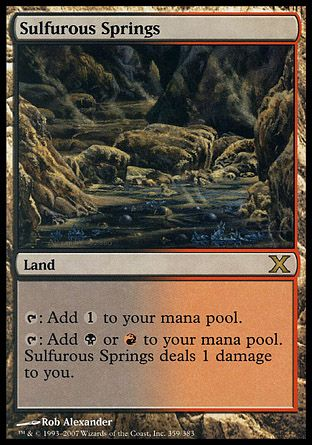 Sulfurous Springs, 10th Edition