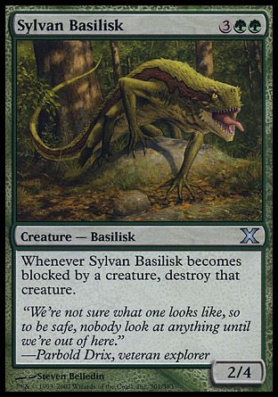 Sylvan Basilisk, 10th Edition