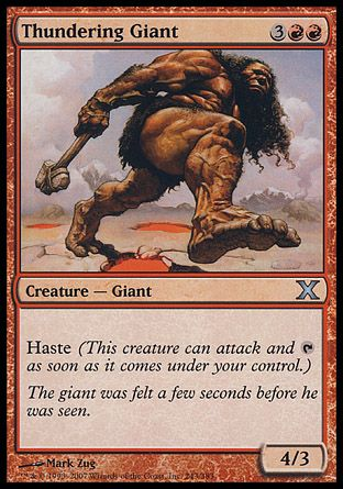 Thundering Giant, 10th Edition