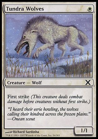 Tundra Wolves, 10th Edition