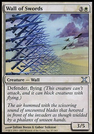 Wall of Swords, 10th Edition