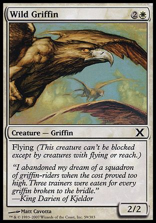 Wild Griffin, 10th Edition
