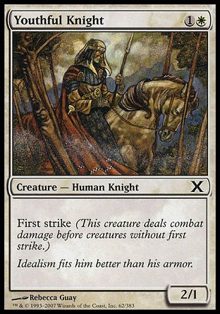 Youthful Knight, 10th Edition