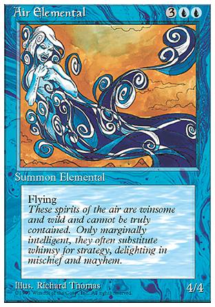 Air Elemental, 4th Edition