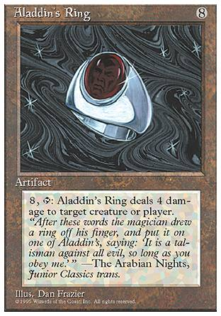 Aladdin's Ring, 4th Edition
