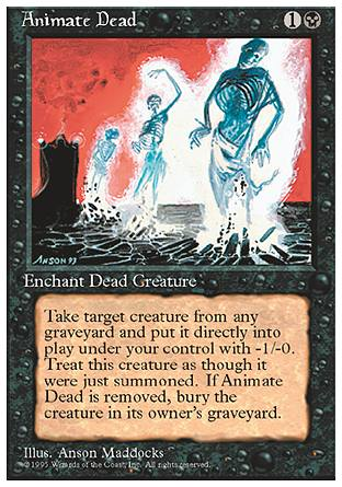 Animate Dead, 4th Edition