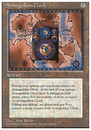 Armageddon Clock, 4th Edition