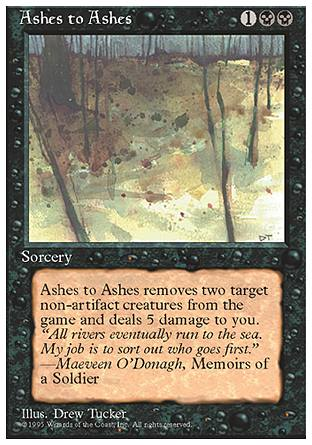 Ashes to Ashes, 4th Edition