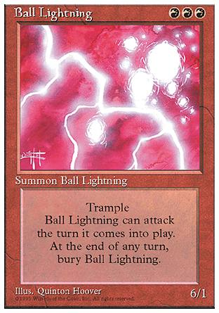Ball Lightning, 4th Edition