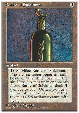 Bottle of Suleiman, 4th Edition